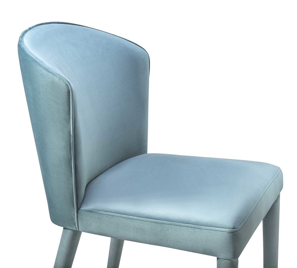 TOV Furniture - Metropolitan Sea Blue Velvet Chair
