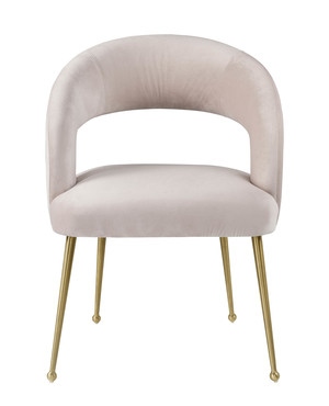 Thumbnail of TOV Furniture - Rocco Blush Velvet Dining Chair