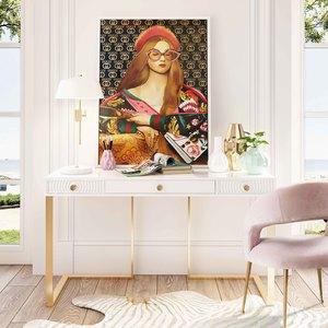 Thumbnail of TOV Furniture - Rocco Blush Velvet Dining Chair
