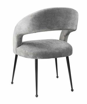Thumbnail of TOV Furniture - Rocco Slub Grey Dining Chair
