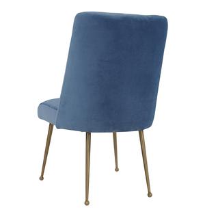 Thumbnail of TOV Furniture - Batik Ocean Blue Velvet Dining Chair