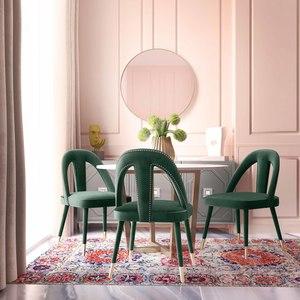 Thumbnail of TOV Furniture - Petra Forest Green Velvet Side Chair