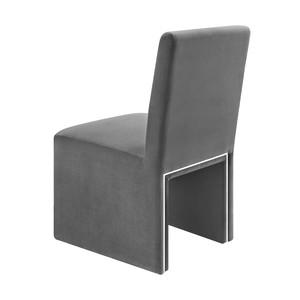 Thumbnail of TOV Furniture - Jaffa Grey Performance Velvet Dining Chair
