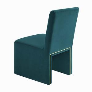 Thumbnail of TOV Furniture - Jaffa Teal Performance Velvet Dining Chair