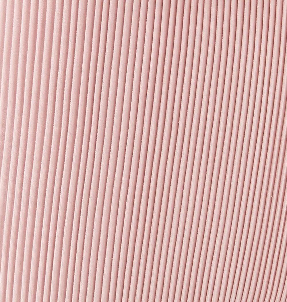 TOV Furniture - Beatrix Pleated Blush Velvet Side Chair