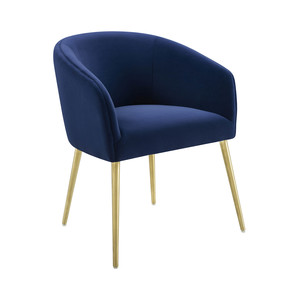 Thumbnail of TOV Furniture - Arya Performance Velvet Navy Dining Chair