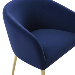Thumbnail of TOV Furniture - Arya Performance Velvet Navy Dining Chair