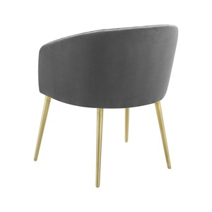 Thumbnail of TOV Furniture - Arya Performance Velvet Grey Dining Chair