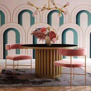 Thumbnail of TOV Furniture - Kim Performance Velvet Chair in Blush