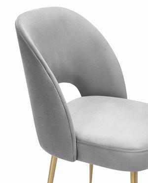 Thumbnail of TOV Furniture - Swell Light Grey Velvet Chair
