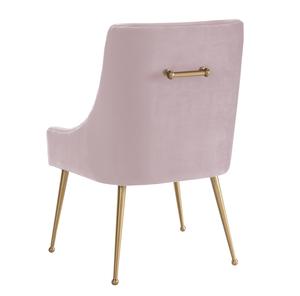 Thumbnail of TOV Furniture - Beatrix Blush Velvet Side Chair