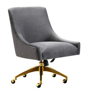 Thumbnail of TOV Furniture - Beatrix Grey Office Swivel Chair