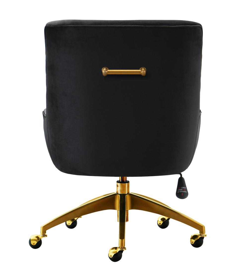 TOV Furniture - Beatrix Black Office Swivel Chair