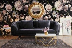 Thumbnail of TOV Furniture - Arti Grey Velvet Loveseat