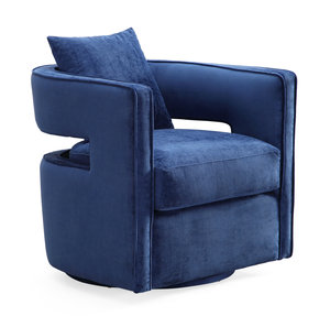 Thumbnail of TOV Furniture - Kennedy Navy Swivel Chair