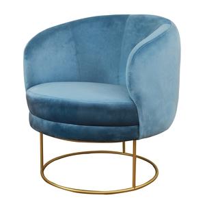 Thumbnail of TOV Furniture - Bella Blue Velvet Chair