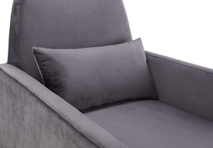 Thumbnail of TOV Furniture - Danner Grey Velvet Chair