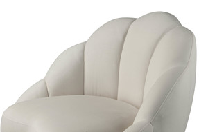 Thumbnail of TOV Furniture - Bloom Cream Velvet Chair
