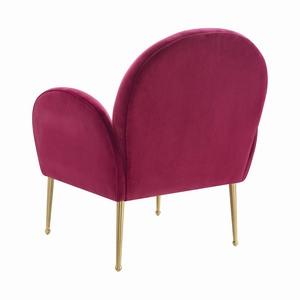 Thumbnail of TOV Furniture - Gwen Plum Velvet Chair