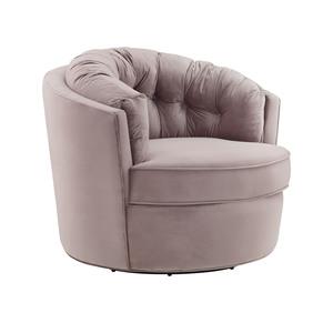 Thumbnail of TOV Furniture - Eloise Mauve Velvet Swivel Chair
