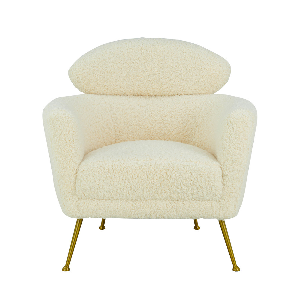 TOV Furniture - Welsh Faux Shearling Chair