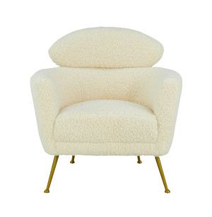 Thumbnail of TOV Furniture - Welsh Faux Shearling Chair