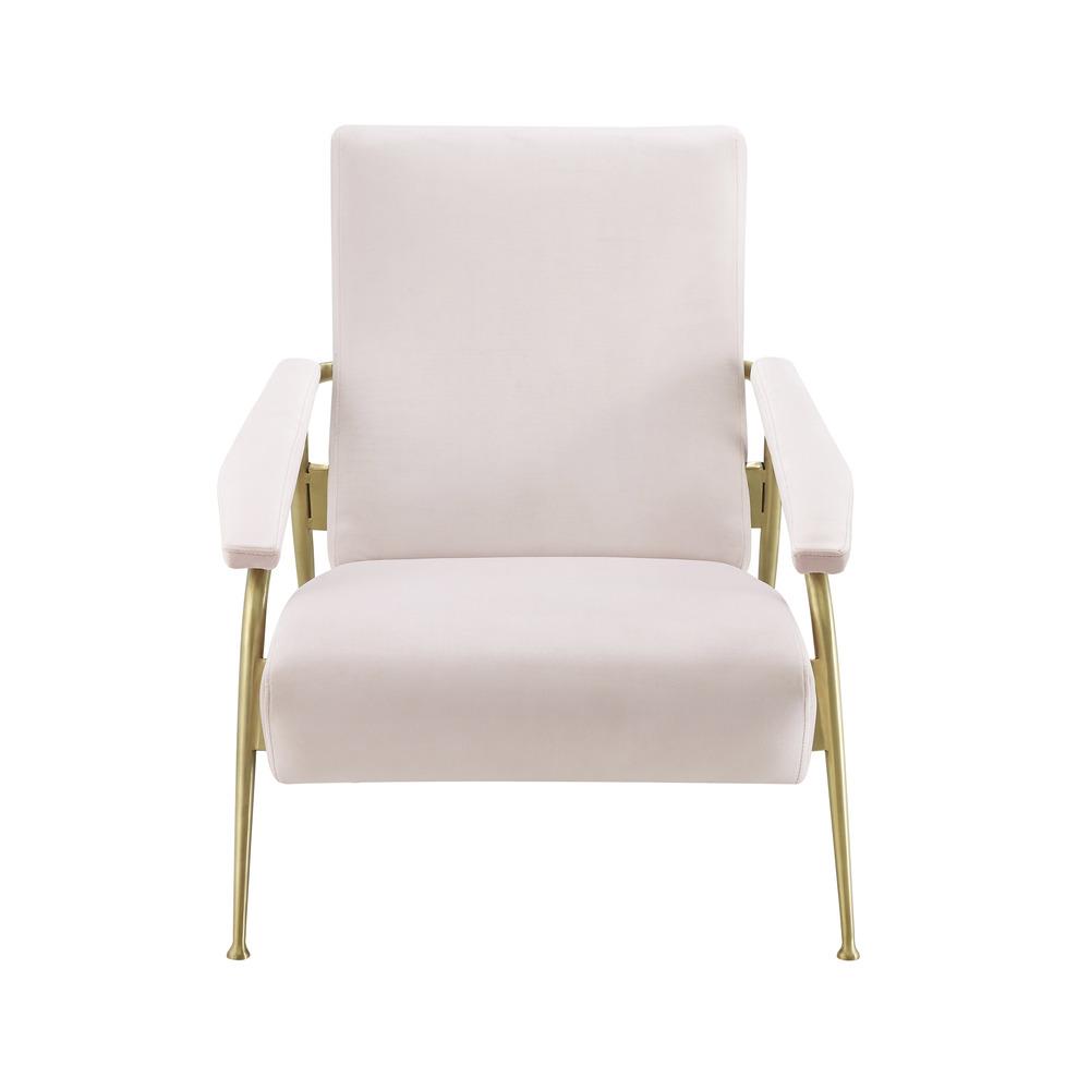 TOV Furniture - Abbey Blush Velvet Chair
