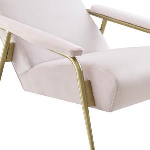 Thumbnail of TOV Furniture - Abbey Blush Velvet Chair