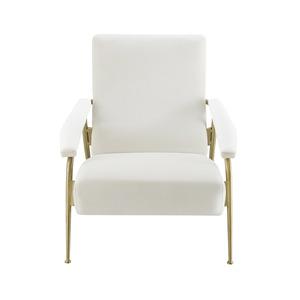 Thumbnail of TOV Furniture - Abbey Cream Velvet Chair
