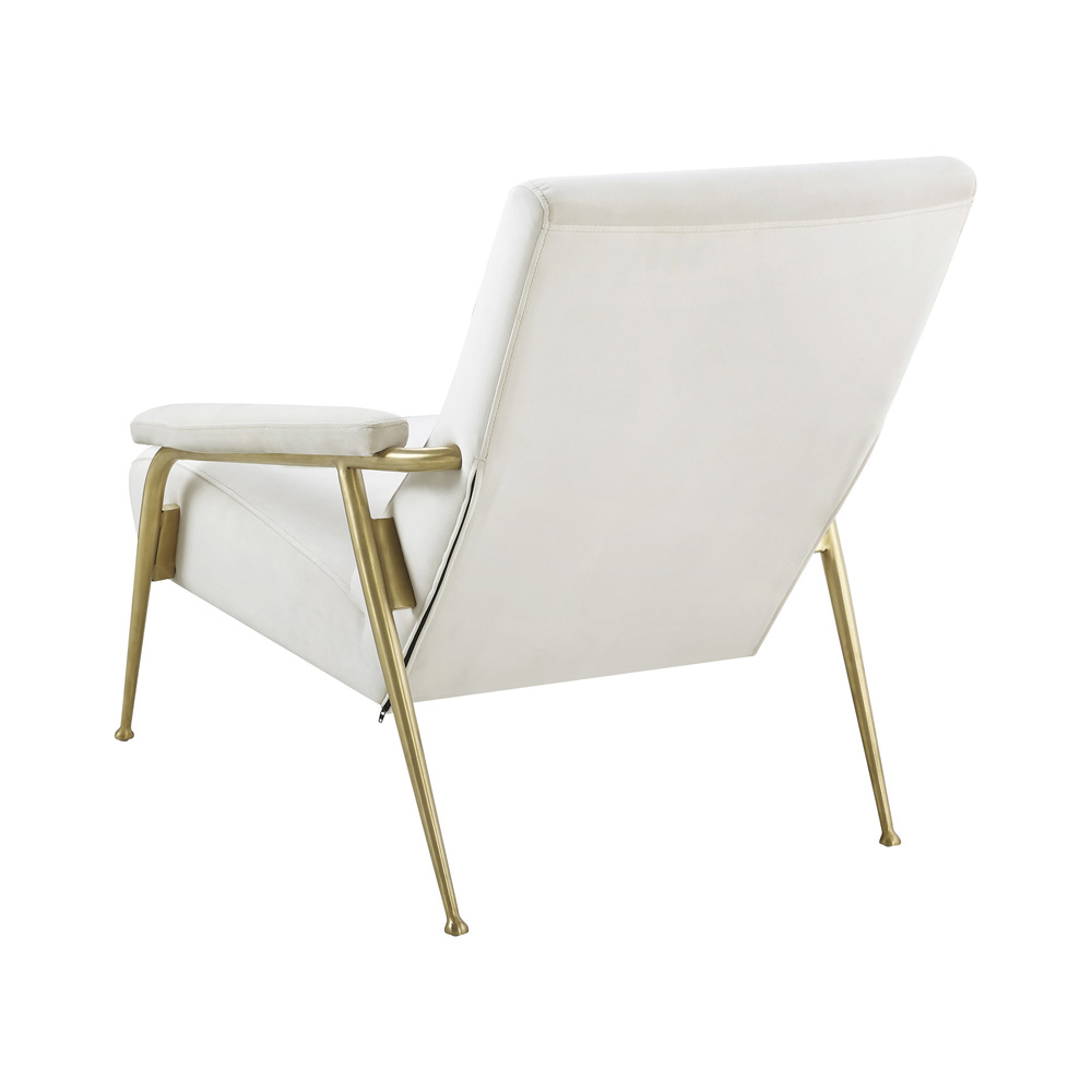 TOV Furniture - Abbey Cream Velvet Chair