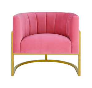Thumbnail of TOV Furniture - Magnolia Rose Pink Velvet Chair
