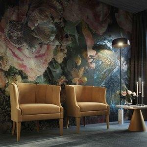 Thumbnail of TOV Furniture - Turin Cognac Velvet Chair