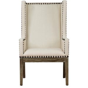 Thumbnail of TOV Furniture - Tribeca Beige Linen Chair