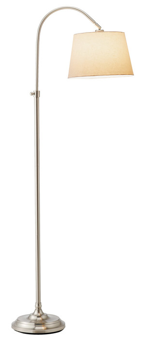 Thumbnail of Adesso - Adesso Bonnet One Light Floor Lamp in Satin Steel