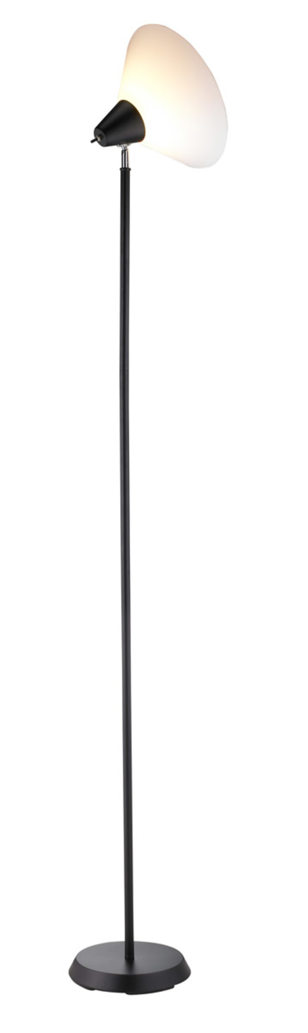 Adesso - Adesso Swivel One Light Floor Lamp in Black