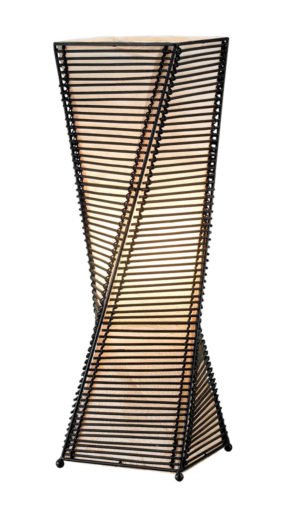 Adesso - Adesso Stix One Light Table Lantern in Black
