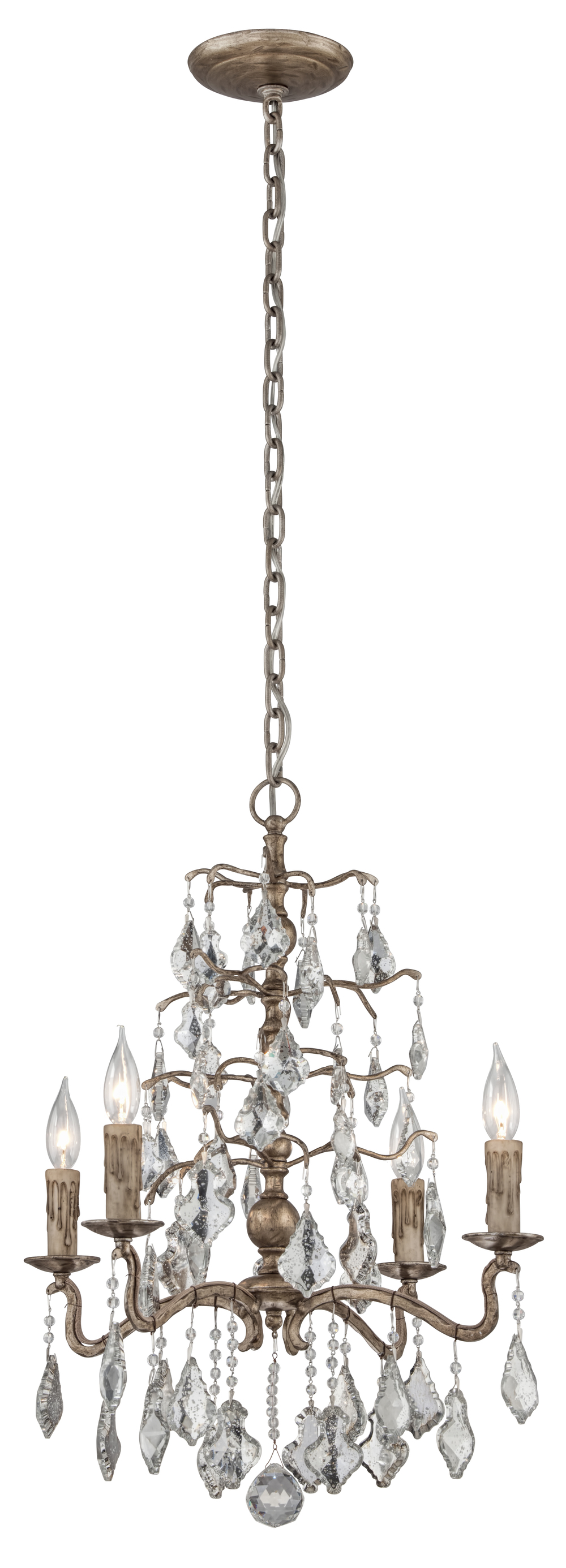 Troy-Corbett - Sienna Four Light Chandelier