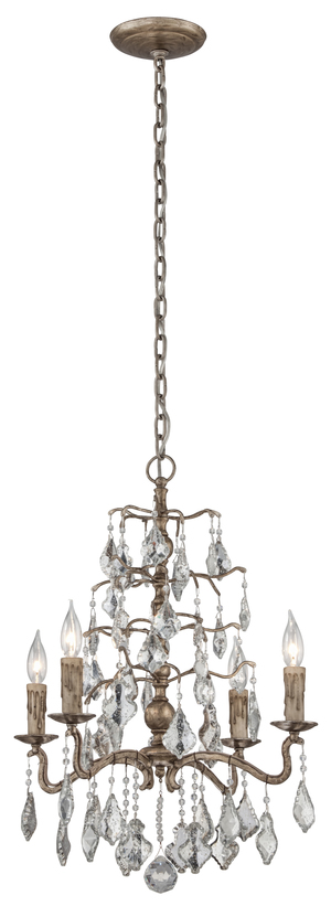 Thumbnail of Troy-Corbett - Sienna Four Light Chandelier