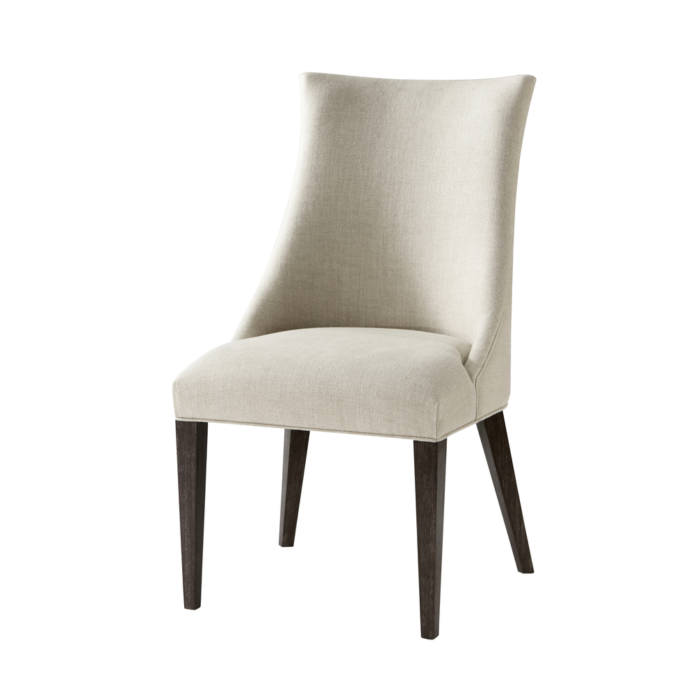 TA Studio-Quick Ship - Wooden Upholstered Side Chair