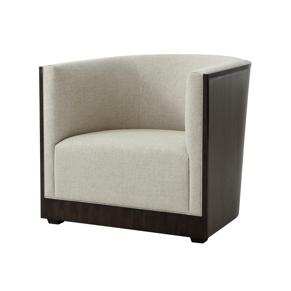 TA Studio-Quick Ship - Wooden Upholstered Club Chair