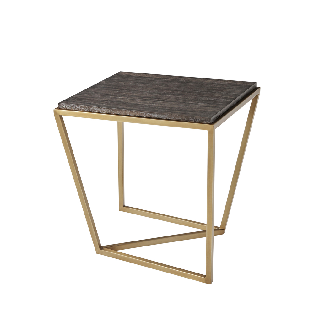 TA Studio-Quick Ship - Stainless Steel Lamp Table