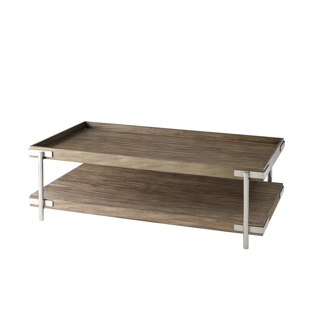 TA Studio-Quick Ship - Wooden Cocktail Table