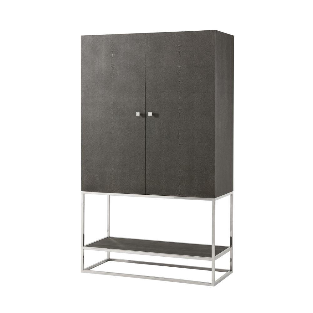 TA Studio-Quick Ship - Wooden Bar Cabinet