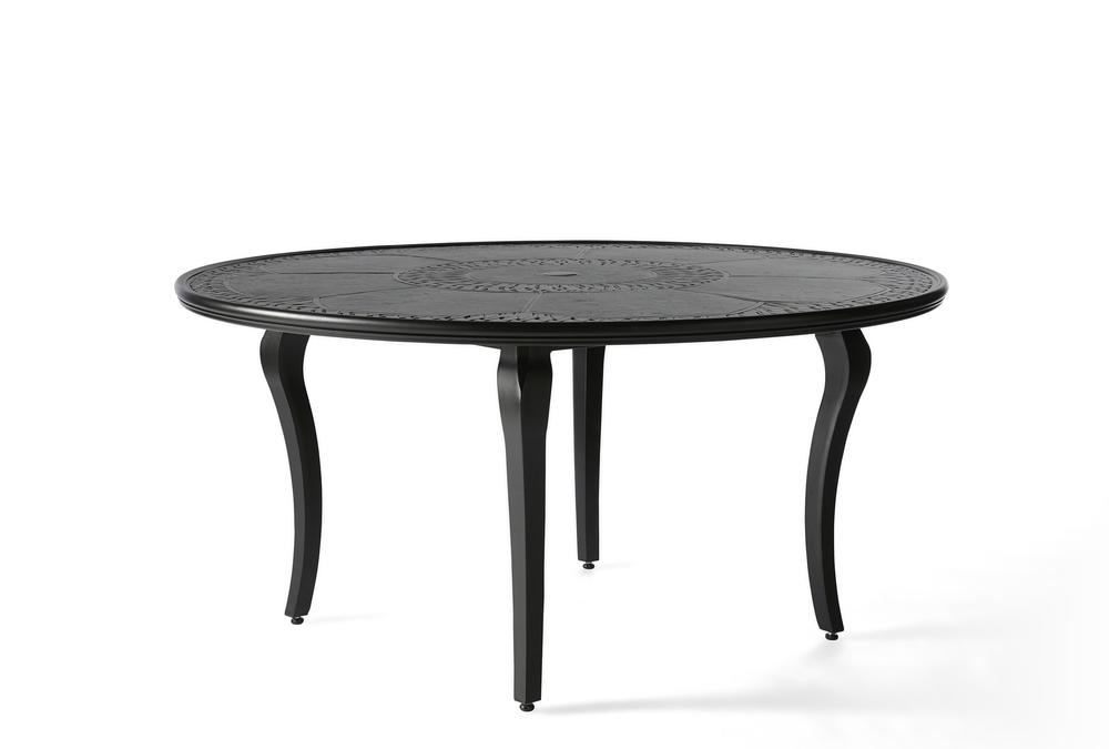 Mallin Furniture - Round Umbrella Dining Table