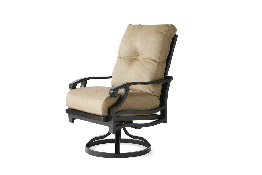 Mallin Furniture - Swivel Rocking Dining Arm Chair