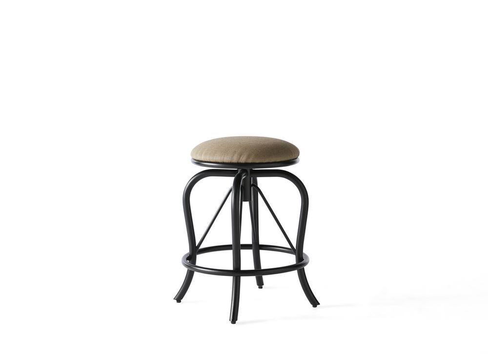 Mallin Furniture - Backless Counter Stool