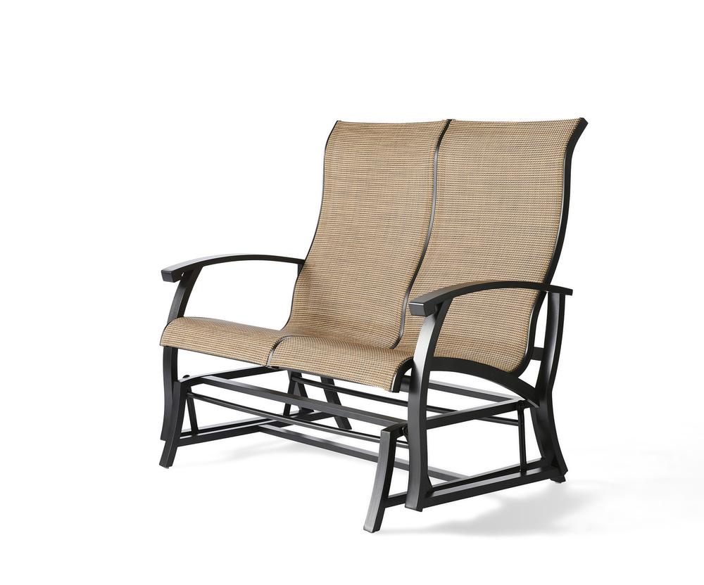 Mallin Furniture - Love Seat Glider