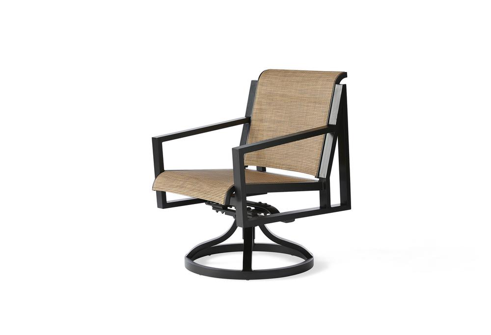 Mallin Furniture - Swivel Rocker Dining Arm Chair