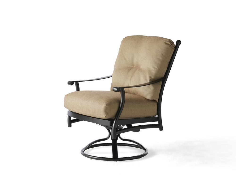 Mallin Furniture - Swivel Rocking Dining Arm Chair