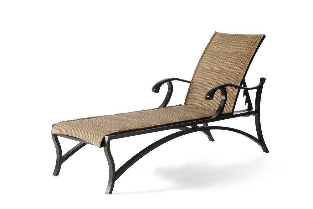 Mallin Furniture - Adjustable Chaise Lounge